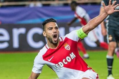 El delantero samario Radamel Falcao volvió a rugir con el Mónaco.