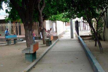Barrio Los Almendros en la capital del Magdalena.