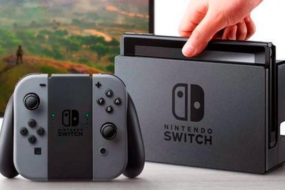 La nueva consola de Nintendo Switch.