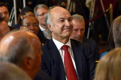 Enrique Gil Botero, nuevo ministro de Justicia, el séptimo de gobierno Santos.