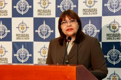 Martha Isabel Castañeda, exviceprocuradora General de la Nación.