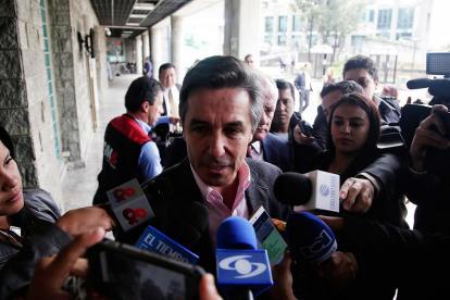 Roberto Prieto, en declaraciones a periodistas.