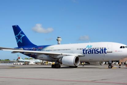 Aeronave de la flota de Air Transat.