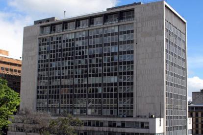 Fachada del Banco de la República.