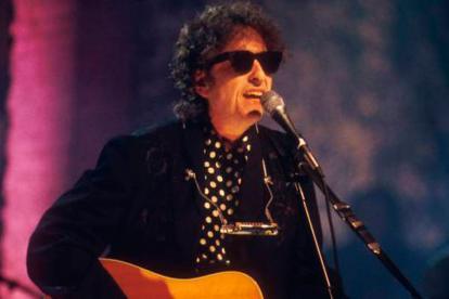 El cantautor estadounidense Bob Dylan.