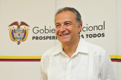 El general Óscar Naranjo, nuevo vicepresidente de la República.