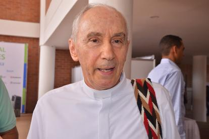 El obispo de Riohacha monseñor Héctor Salah Zuleta.