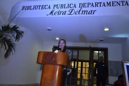 María Teresa Fernández, secretaria de Cultura y Patrimonio del Departamento.