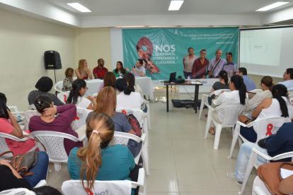 En el lanzamiento de la estrategias estuvieron presentes autoridades locales y representantes de portadores.