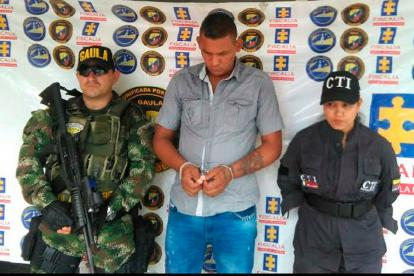 Pérez De Alba, capturado por homicidio agravado tentado y porte ilegal de armas.
