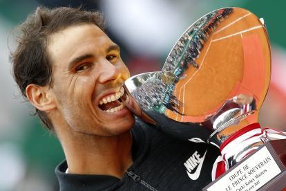 Rafael Nadal tras victoria del Masters 1000