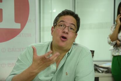 Santiago Rojas Arroyo, director de la Dian.