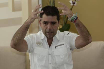 Alejandro Char, alcalde de Barranquilla.