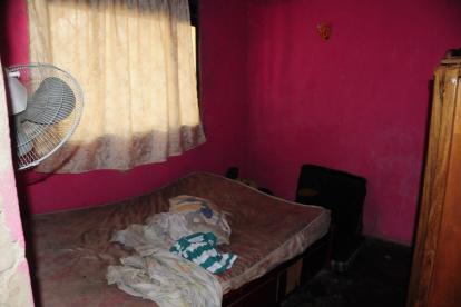 Jean Carlos Ospino fue atacado en su habitación.