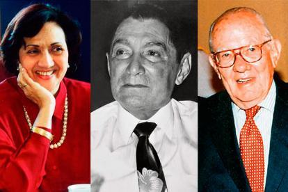 Consuelo Araujonoguera, Alfonso López Michelsen, Rafael Escalona