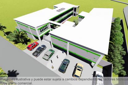 Diseño del nuevo centro educativo.