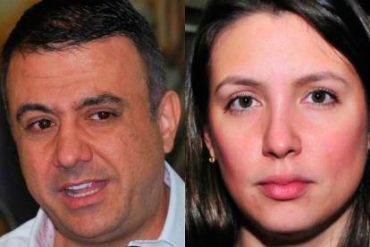 Edwin Besaile Fayad. Sara Piedrahíta