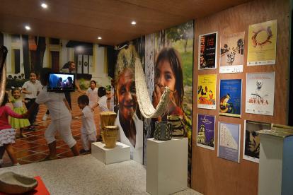 Muestra 'Museo al parque'.