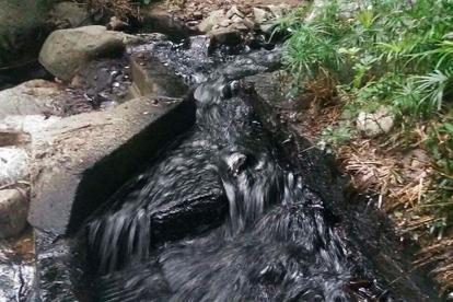 Derramamiento de petróleo por ataque al oleoducto Caño Limón- Coveñas, en Norte de Santander.