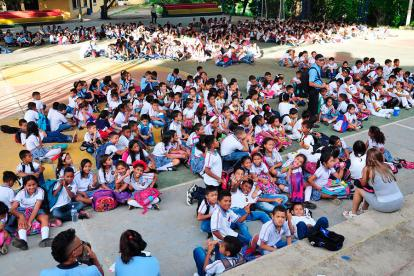 En la Institución Educativa Normal Superior de Sincelejo reanudaron clases ayer.