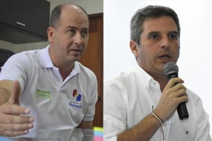 Marcos Pineda y Carlos Correa.