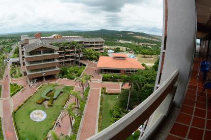 Panorámica de la Universidad del Atlántico, institución pública que lleva casi 10 años de interinidad.