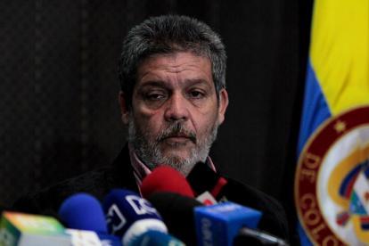 Marcos Calarca, miembro del Mecanismo por parte de las Farc.
