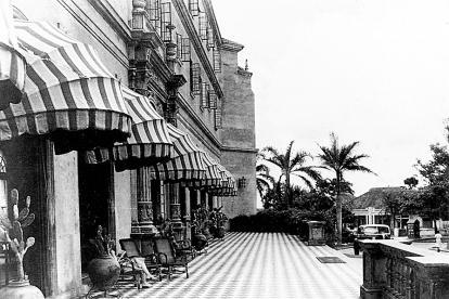 Imagen del Hotel El Prado en sus inicios, durante la década de 1930.