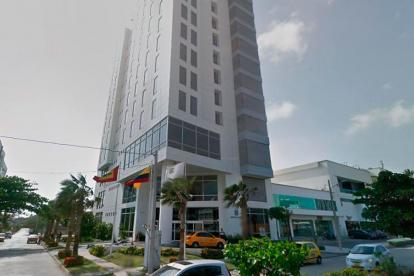 El hotel Sonesta Barranquilla, donde ocurrió el robo.
