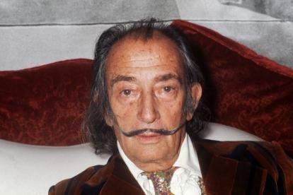 El pintor español Salvador Dalí,