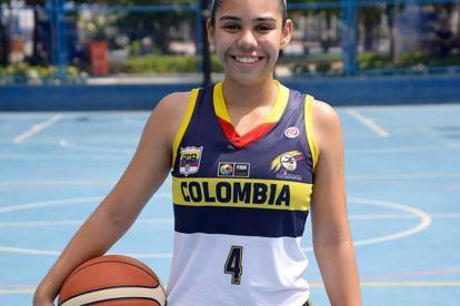 Gabriela Bendeck, basquetbolista barranquillera.