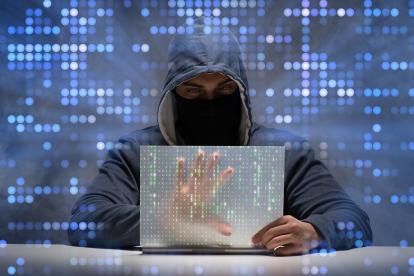 Imagen de un 'hacker'