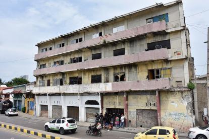 Fachada de edificio 'Maneiro', en el barrio Getsemaní.