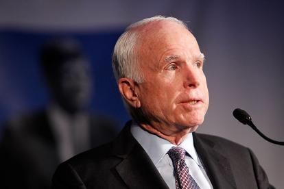 John McCain, político estadounidense.