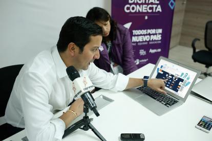 David Luna, Ministro de Las Tecnologías, Mintic.