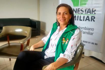 Gladis Caraballo, directora (e) Icbf en Córdoba.