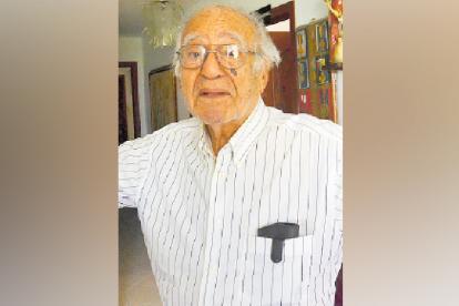 El compositor soledeño Rafael Campo Miranda.