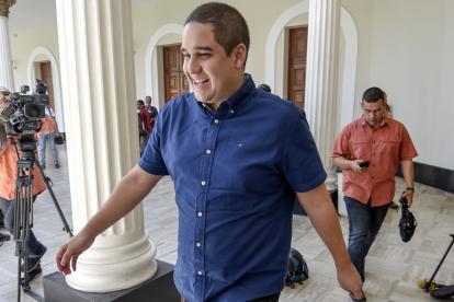 Nicolás Maduro Guerra, hijo del presidente venezolano.