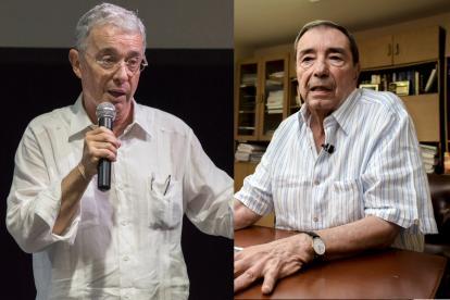Álvaro Uribe Vélez y Fuad Char Abdala.