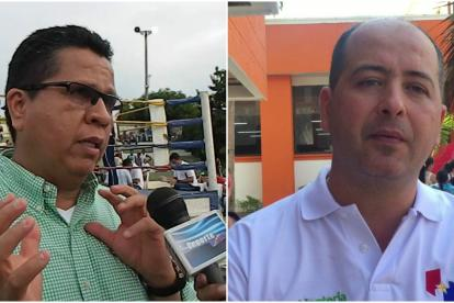 Jairo Torres y Marcos Pineda