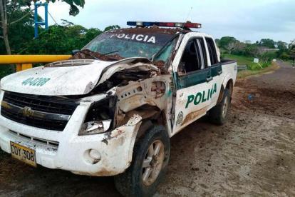 El jueves 31 de agosto una patrulla de la Policía fue atacada con un artefacto explosivo en el sitio Paso Nuevo, entre San Bernardo del Viento y Moñitos. El ataque no dejo ningún uniformando herido.