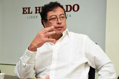 Gustavo Petro, precandidato presidencial.