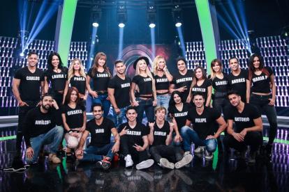 Los 20 participantes de 'Protagonista 2017'.