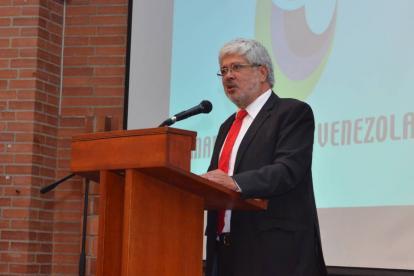 Darío Germán Umaña, director ejecutivo de la Cámara Colombo Venezolana.
