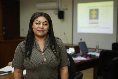 Oneida Pinto, exgobernadora de La Guajira.