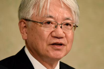 Hiroya Kawasaki, presidente de Kobe Steel.