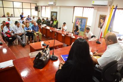Sesión del Concejo de Soledad celebrada en agosto.