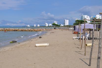 Pese a que viven del turismo, en Coveñas no le dan la importancia a este atractivo sector, a juzgar por el descuido de sus bellas playas.
