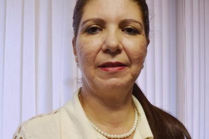 Lucy del Carmen Vergara Tejada, tesorera de la Gobernación de Sucre.