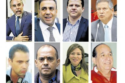 Armando Benedetti, Musa Besaile, Bernardo Elías, Antonio Guerra, Ape Cuello, Martín Morales, Sandra Villadiego y Álvaro Ashton.